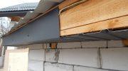 Как быстро подшить свесы крыши