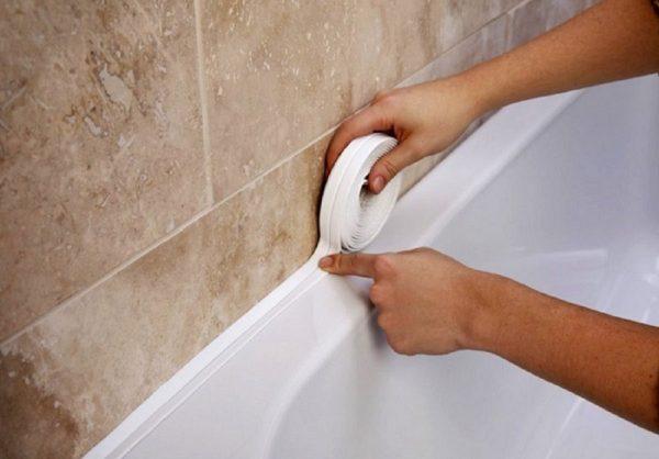 Фото бордюрной ленты для ванны