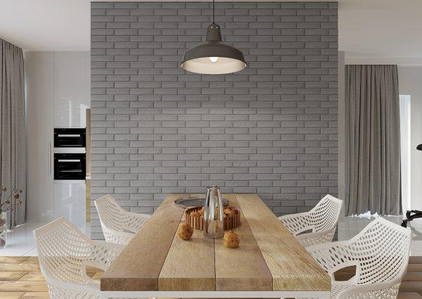 Клинкерная плитка на стене