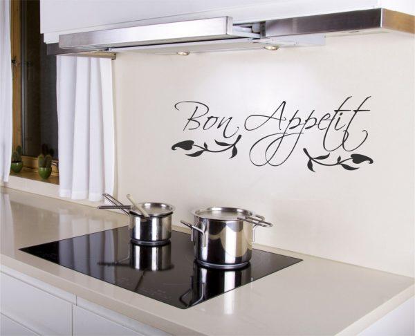 Наклейка на кухне