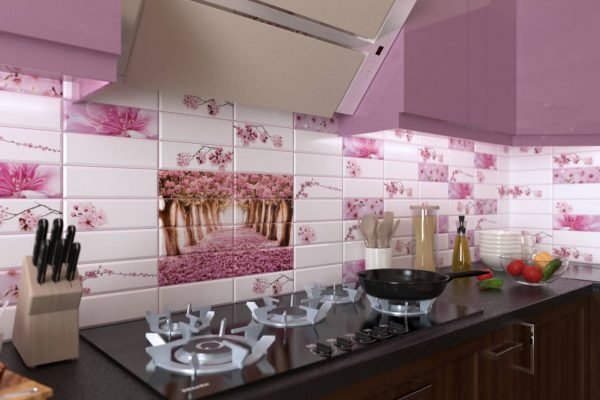 Фото ПВХ панелей на кухне