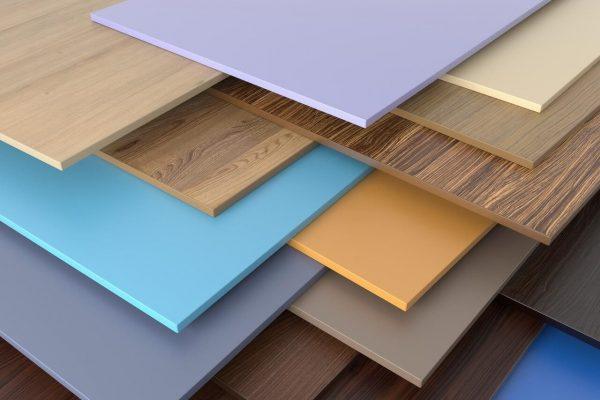 Пластиковые панели в разных цветах