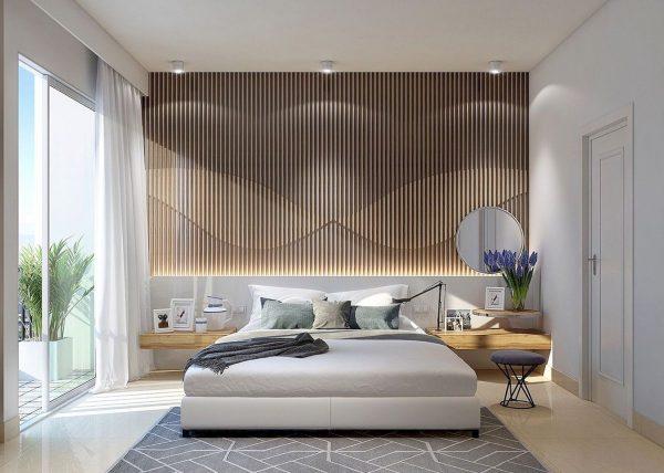 Современный интерьер в спальне