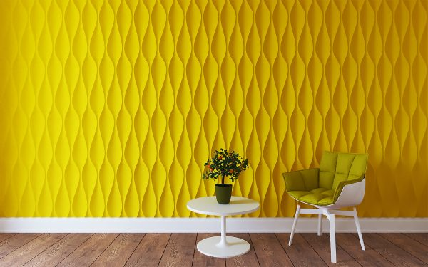 Фото желтых панелей