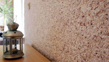 Виды жидких обоев для оформления стен и как они выглядят