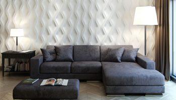 Оформление стен декоративными панелями в интерьере