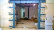 В каких домах допустим демонтаж несущей стены