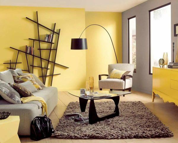 Крашенные стены в квартире