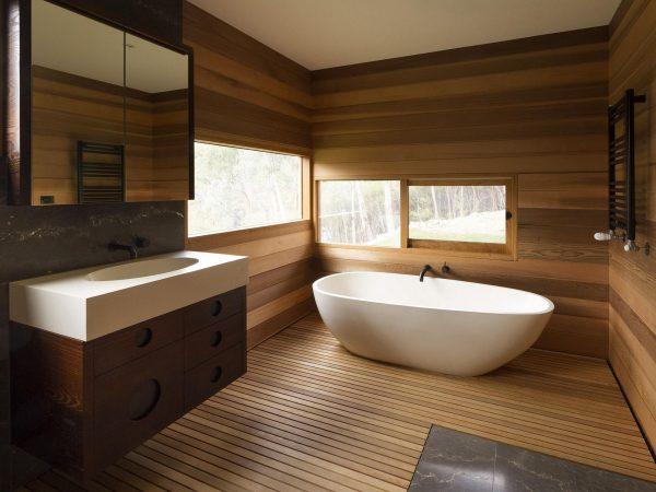 Фото МДФ панелей в ванной