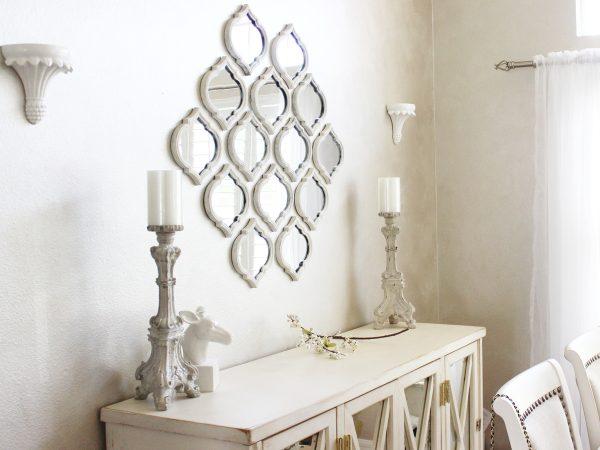 Фото зеркал на стене