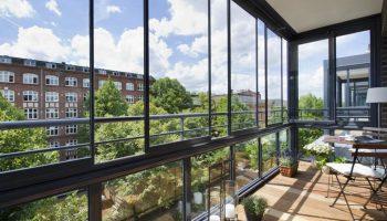 Как на балконе сделать панорамное остекление
