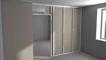 Почему гипсокартон не подойдет для межкомнатных перегородок в квартире