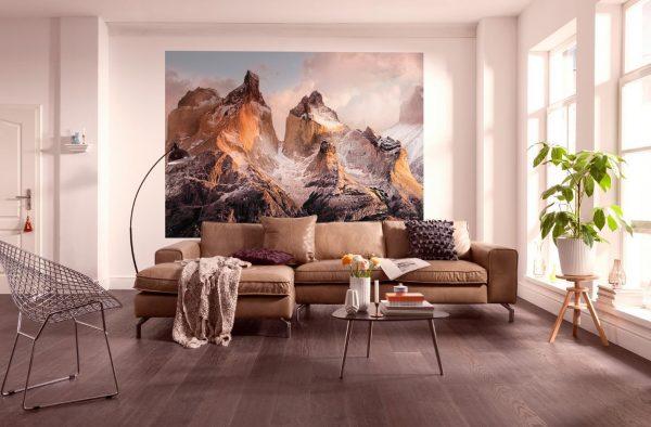 3Д фреска на стене