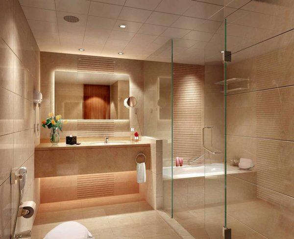 Аквапанели в ванной