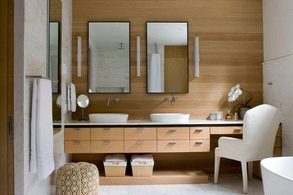 ДСП панели в ванной
