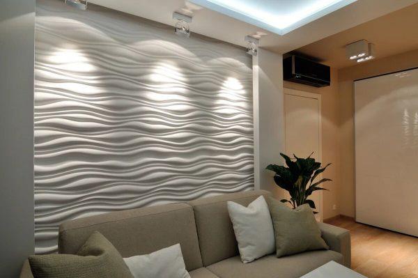 Декоративные панели в интерьере