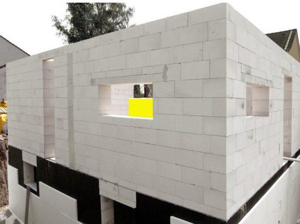 Дом из блоков газобетона