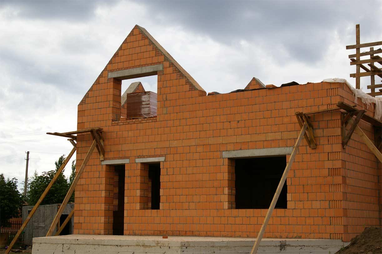 Фотографии домов из кирпича и их проекты общем, если