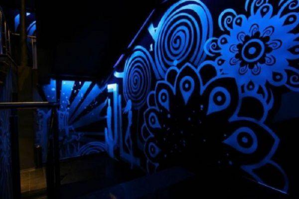 Флуоресцентный орнамент