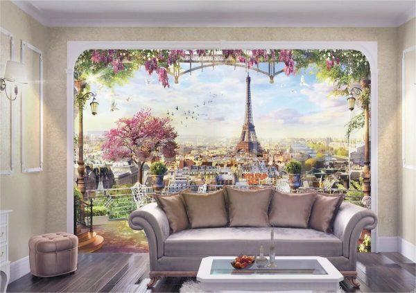 Фото фрески на стене