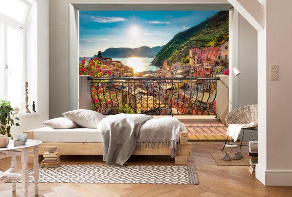 Фото фрески с морем