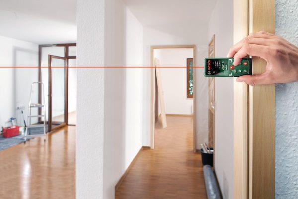 Измерение площади комнаты