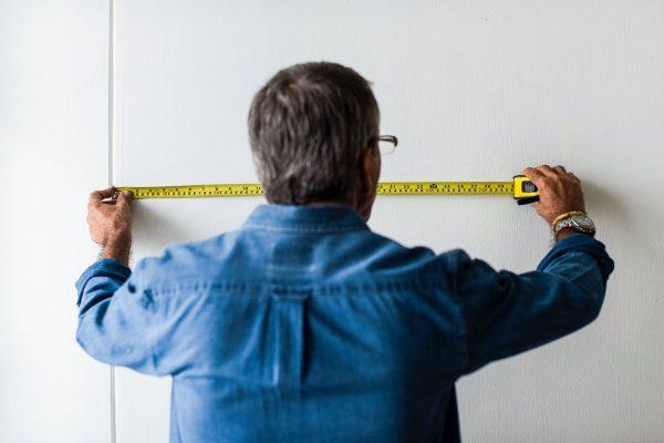 Измерение стены
