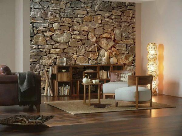 Фото каменной стены