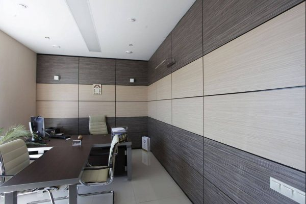 МДФ панели в кабинете