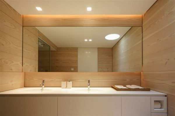 МДФ панели в ванной