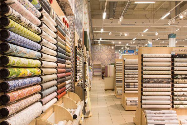 Фото магазина обоев