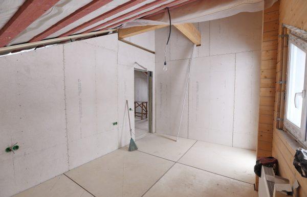 Монтаж гипсокартона в деревянном доме