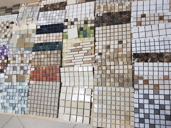 Мозаичная плитка в магазине