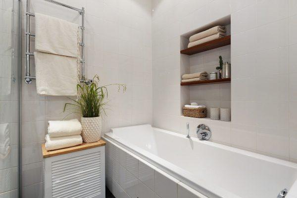 Фото ниши в ванной