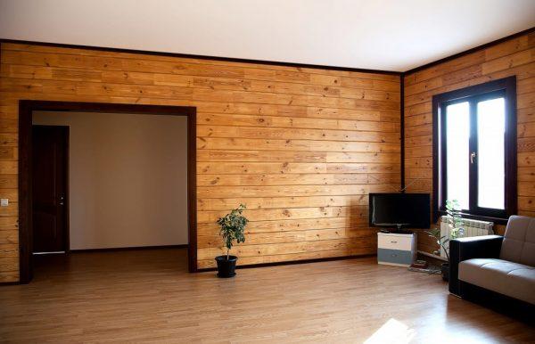 Обшивка стен дома