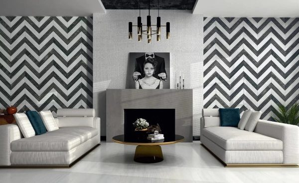 Черно-белый орнамент