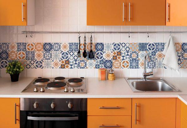 Фото орнамента на кухне