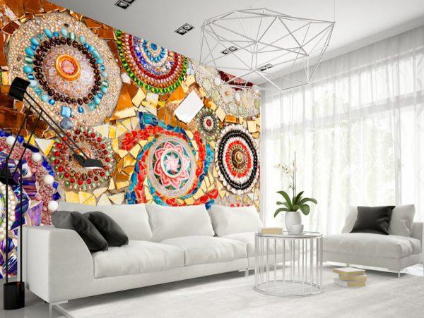 Фото орнамента на стене