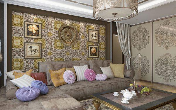 Орнамент в гостиной