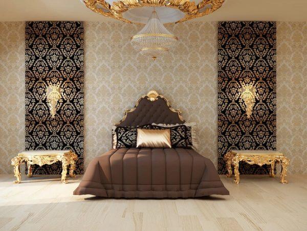 Орнамент в спальне