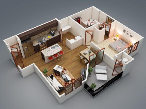 Фото плана квартиры