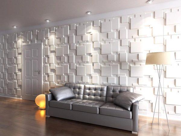 Плиточные панели на стенах