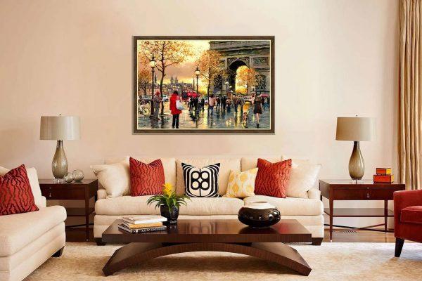 Постер в гостиной