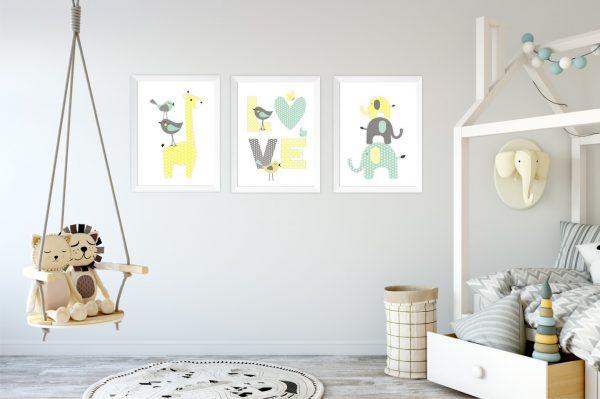 Постеры в детской