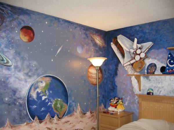 Рисунок космос