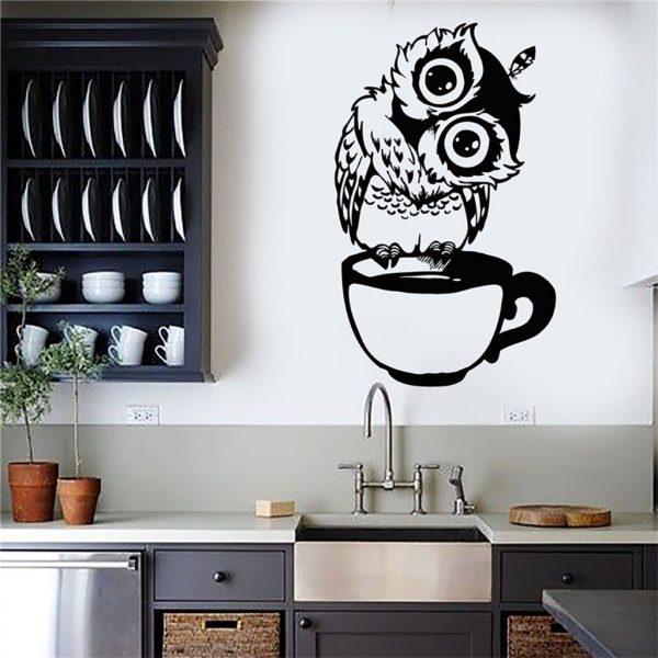 Рисунок на кухне