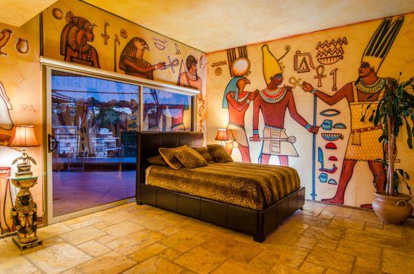 Роспись стен в египетском стиле