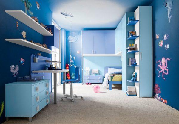 Фото синей детской