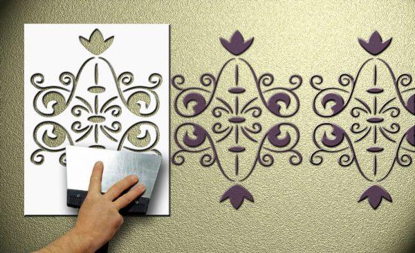 Трафарет для орнамента