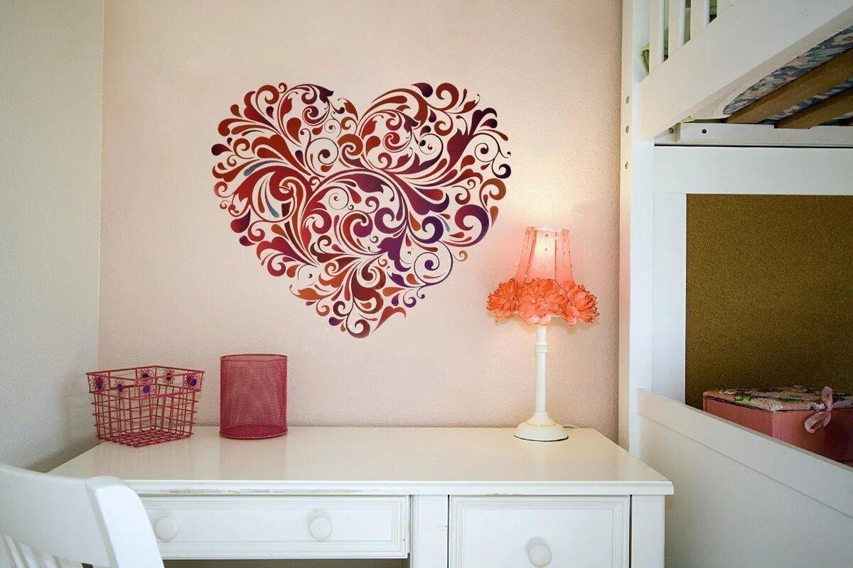 картинки на украшение комнаты первую